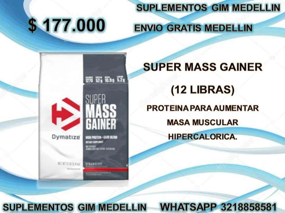 Super Mass Gainer 12 Libras
