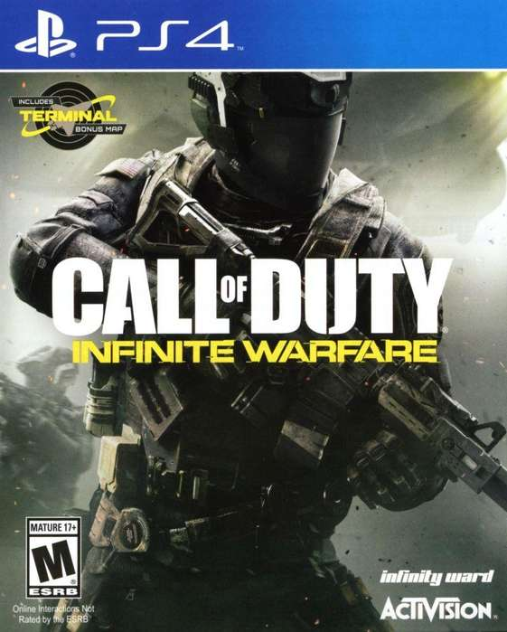Call Of Duty Infinite Warfare Playstation 4 Ps4, Físico