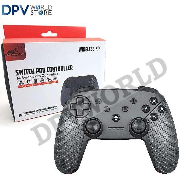 Control Nintendo Switch Pro Controller Inalambrico Con 3 Joystick