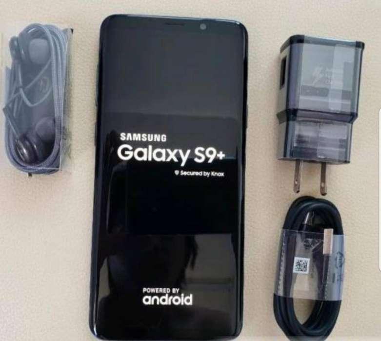 Samsumg S9 Plus Color Negro de 64 Gb