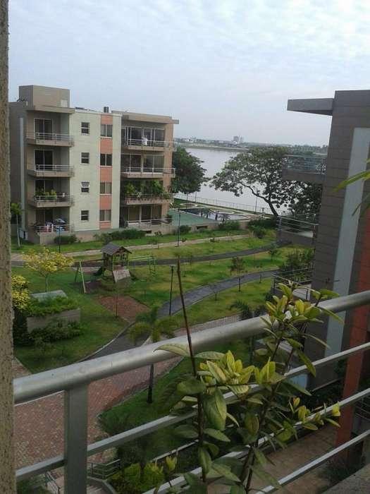 Alquiler D06 Departamento full amoblado 3 habitaciones Samborondón