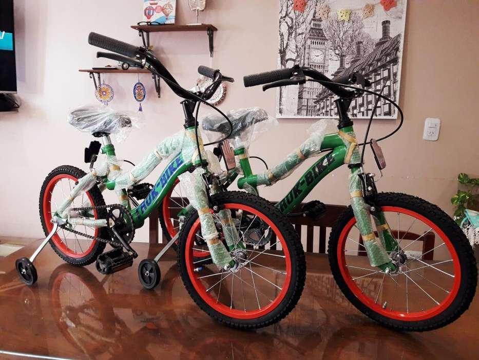 Bicicleta Bmx Rodado 16