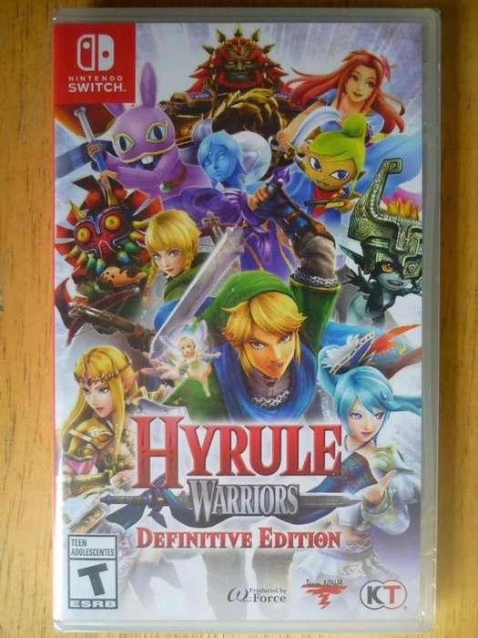 NINTENDO SWITCH HYRULE WARRIORS DEFINITIVE EDITION NUEVO