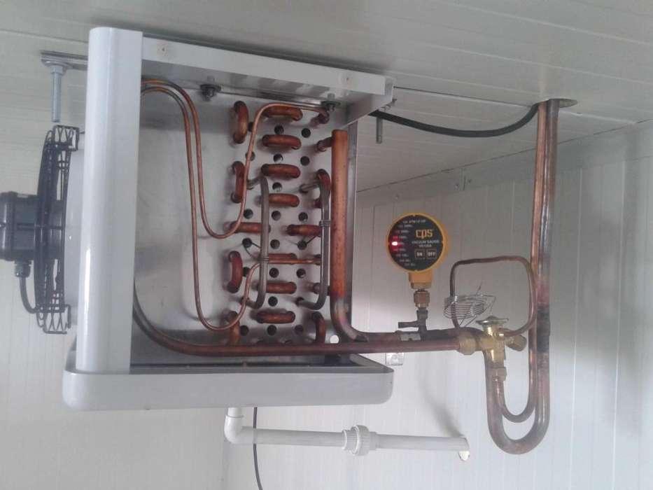 Suministro e instalación de cuartos fríos de todos los tamaños