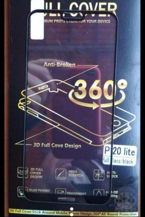 Mica de Vidrio Templado Huawei P 20 Lite