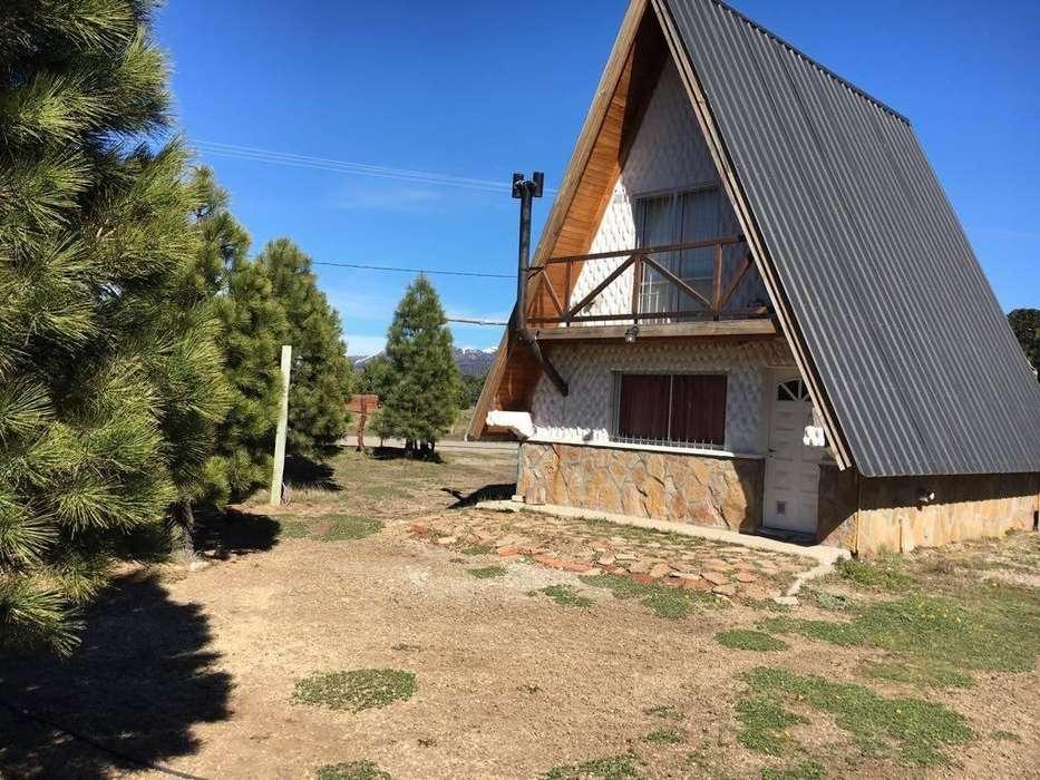 qq40 - Cabaña para 2 a 6 personas con cochera en Moquehue