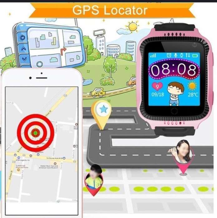 Reloj Smart Watch Niños Gps Celular Chip Juegos Localizador