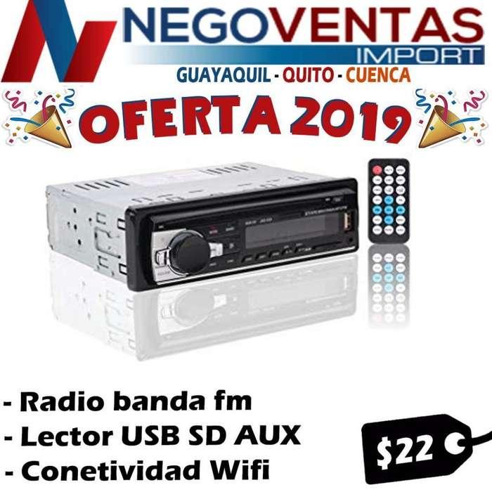 <strong>radio</strong> PARA CARRO BLUETOOTH FIJA USB , SD , FM AUX PANTALLA LED