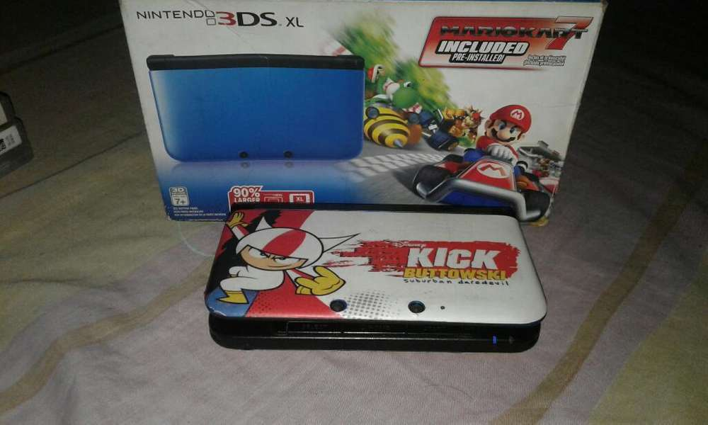 Combo 3ds Xl Personalizado Mario Kart