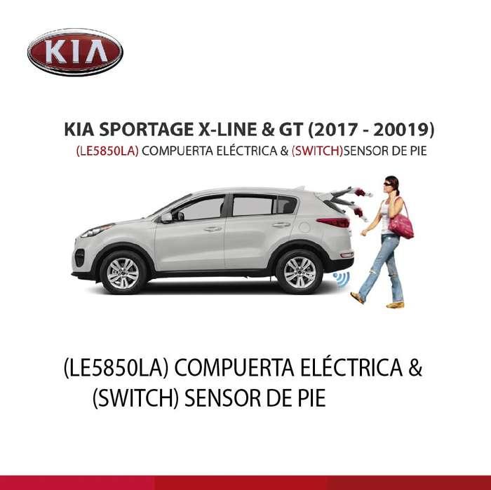COMPUERTA ELÈCTRICA KIA XLINE Y GT