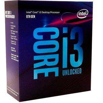 Procesadores INTEL CORE I3 8100; CORE I5 8400 BOX
