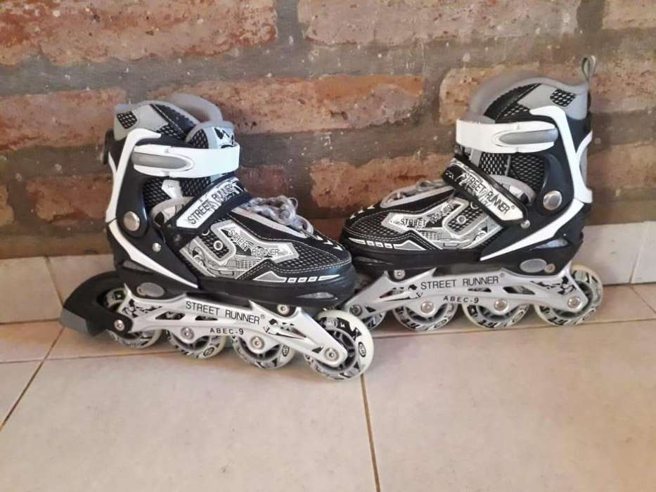 Rollers Patines Extensibles Abec9 Protecciones Kit