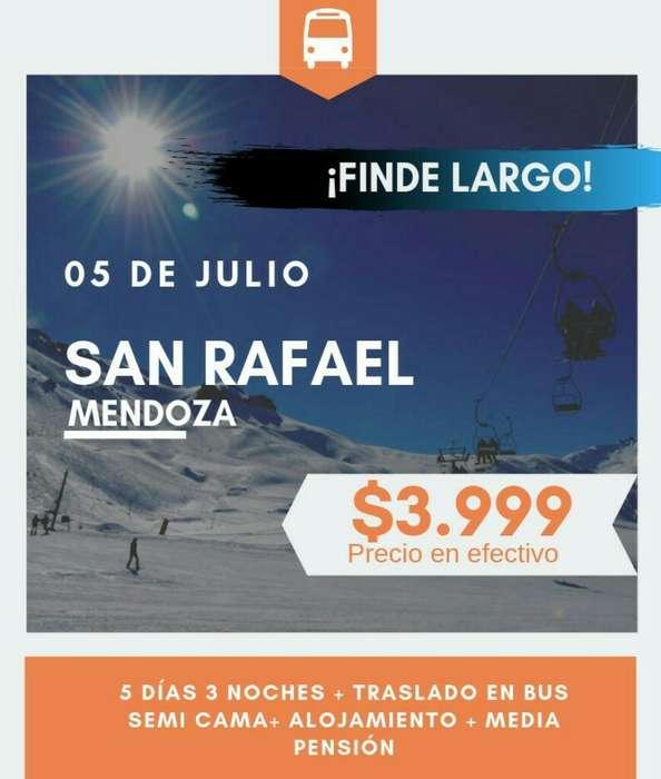 5 D Julio, Finde Largo!