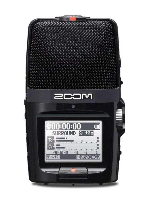 Grabadora Digital Stereo Zoom H2n Handy Recorder Grabador