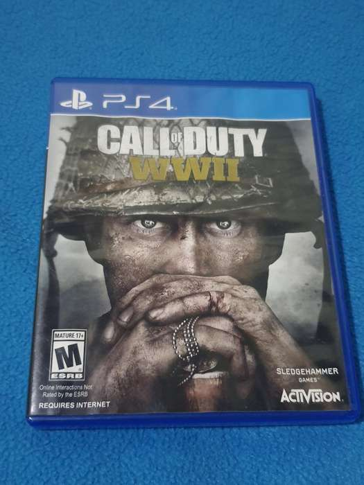 Call Of Duty Wwii Ps4 Original Fisico