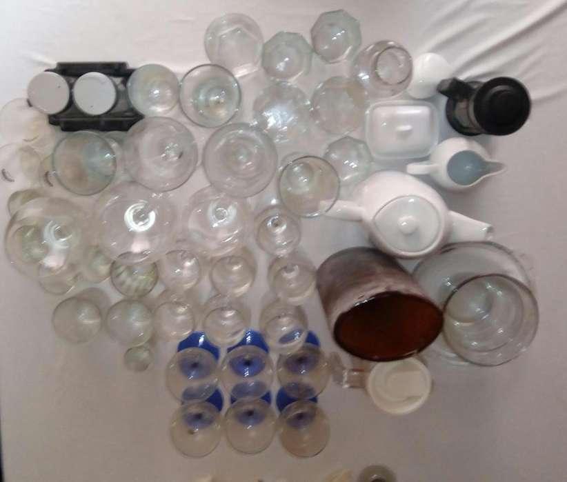 Cristalería 45 piezas - 110.000
