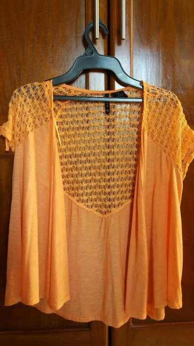 Blusa Naranja Talla S