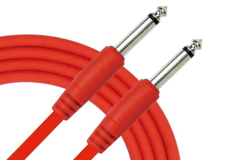 KIRLIN IC241 Bk Cable de 6 metros para instrumentos musicales