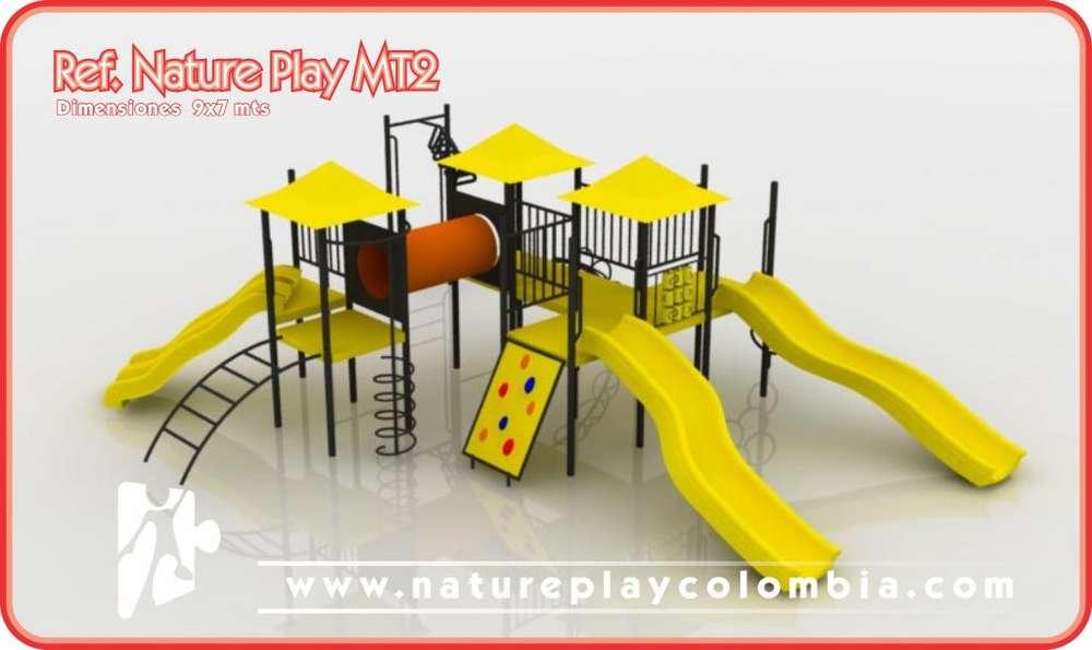 parques infantiles colombia nature play