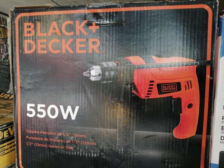 Taladro Black And Decker 1/2 Nuevo
