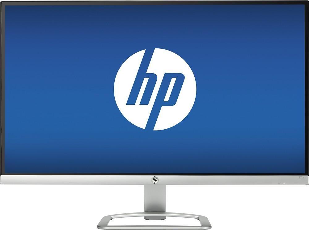 HP 27 IPS LED FHD Monitor Ultra delgado Plata y Negro