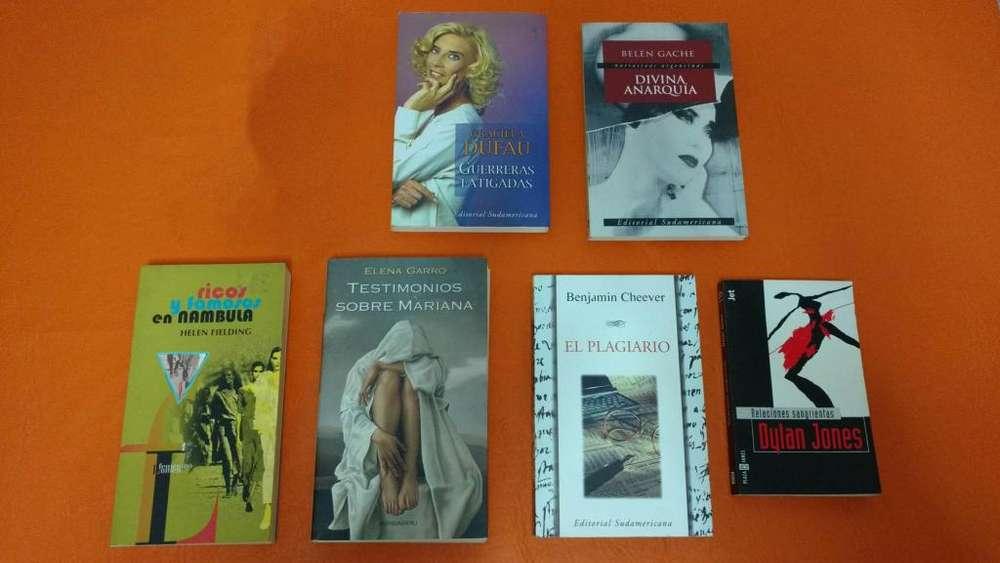 Lote de 6 Libros en EXCELENTE ESTADO, COMO NUEVOS (EL PRECIO ES POR TODOS JUNTOS):