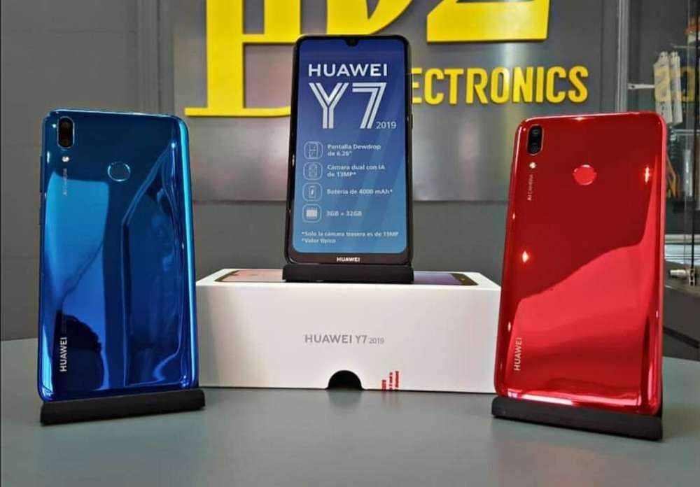 Huawei Y7 2019 Nuevos Sellados Garantía