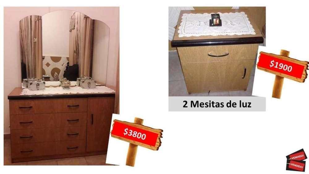 Comoda 2 <strong>mesas</strong> de Luz