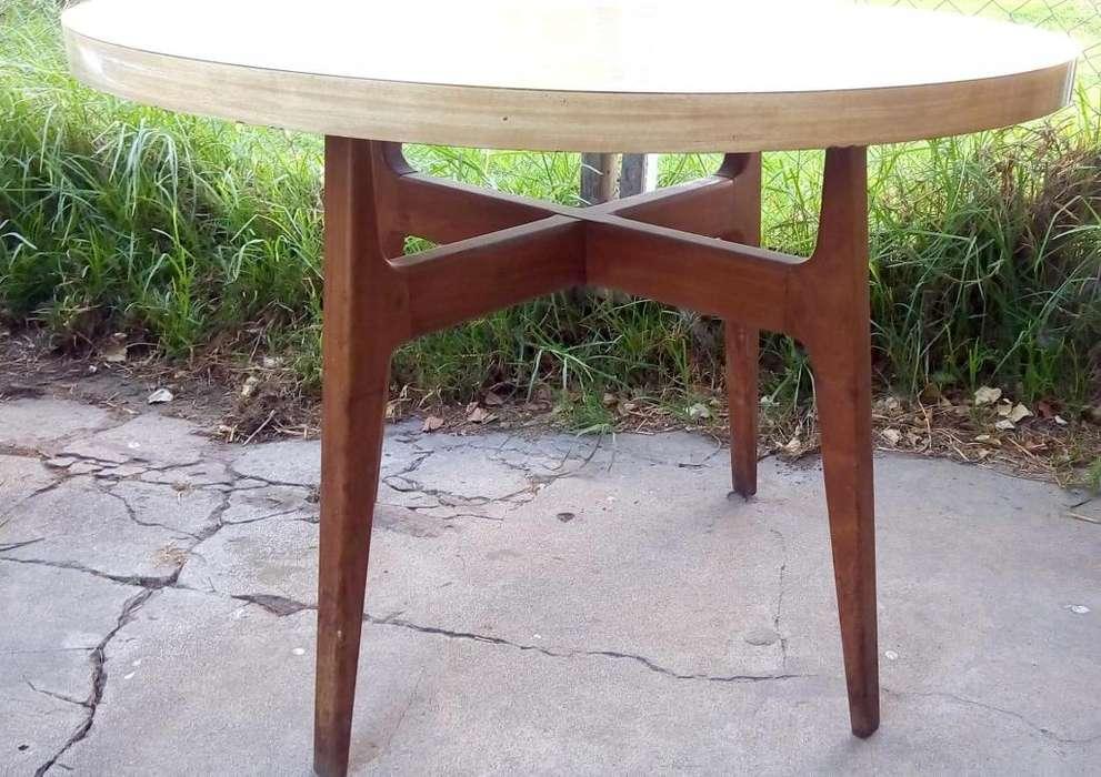 Mesa Cocina <strong>comedor</strong> escandinava redonda Chica Diseño Retro Vintage