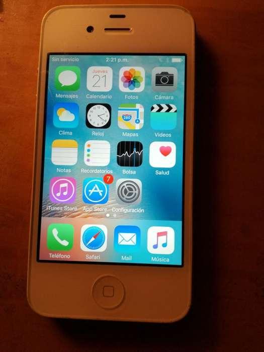 Vendo iPhone 4s Usado