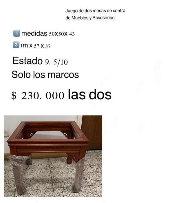 Dos Mesas de Centro (Marcos)
