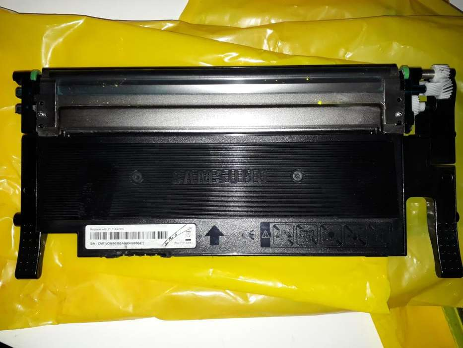 4 Toner para <strong>impresora</strong> Laser Samsung C410 Orig a cargar x unidad