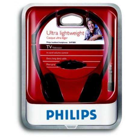 AURICULARES PHILIPS SHP1800 cable 6mtrs Cod.803