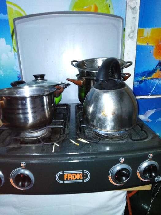 Cocina de Mesa Cuatro Hornillas
