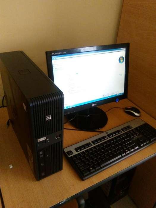 COMPUTADOR COMPLETO DUAL CORE 2 GB RAM DISCO DURO 200 GB WINDOWS 7