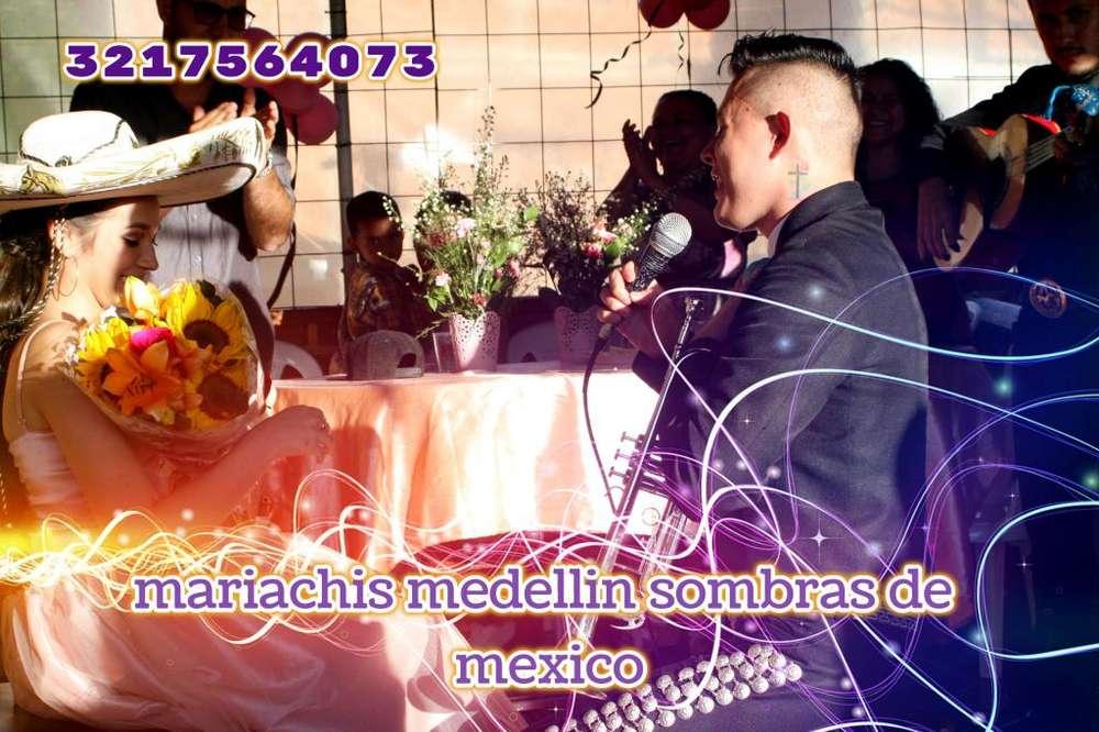 Mariachis Medellin sombras de mexico003