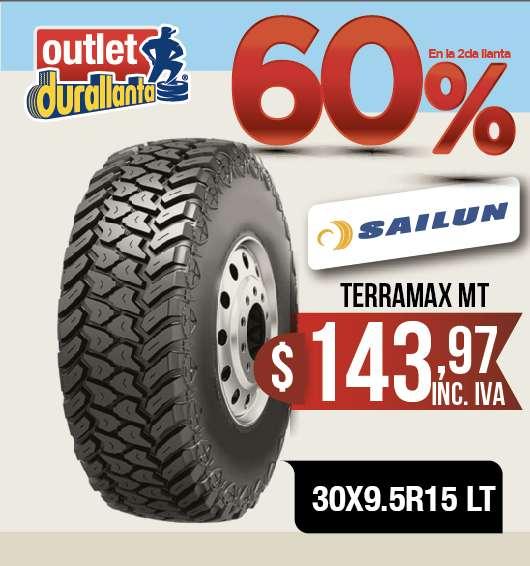 <strong>llantas</strong> 30X9.5R15 LT SAILUN TERRAMAX MT