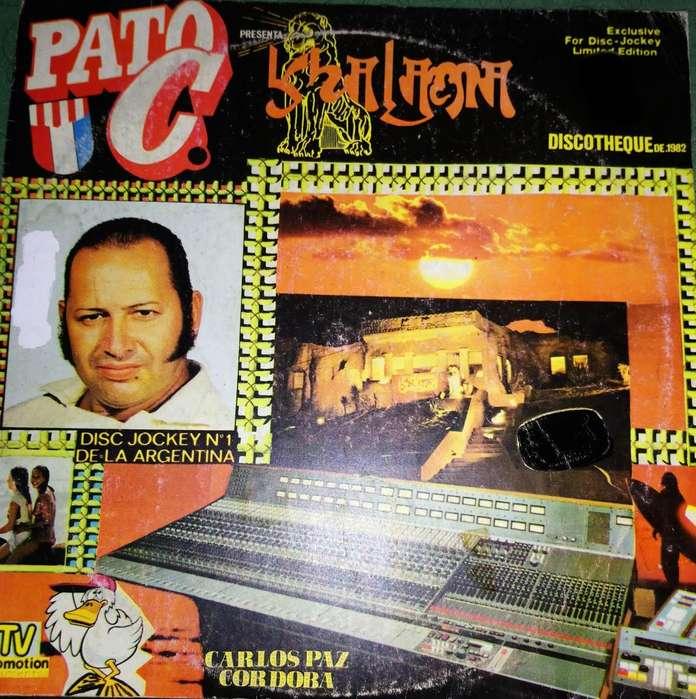 3 discos Vinilo PATO C