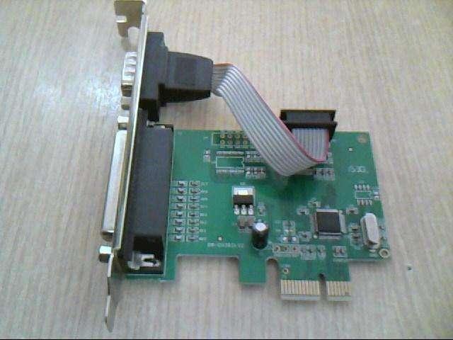 Placa para <strong>pc</strong> <strong>pc</strong>I EXPRESS con conector Serial y Paralelo NogaNet