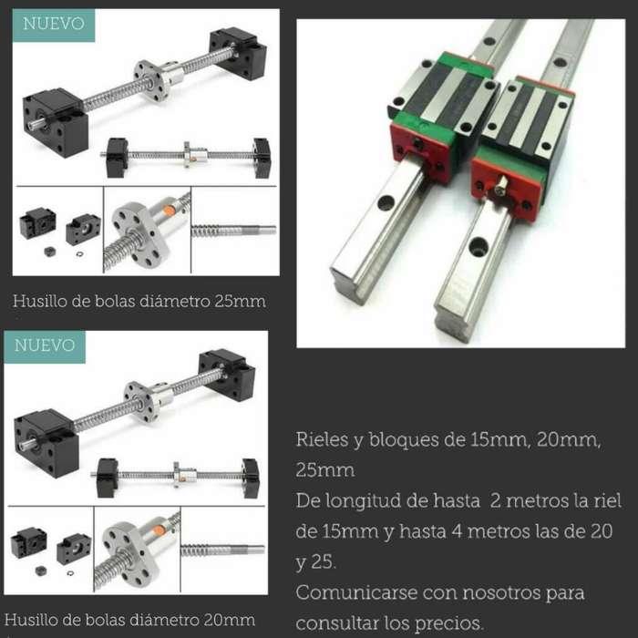 <strong>componentes</strong> de Cnc