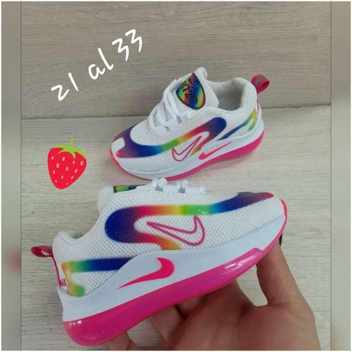 Tenis Nike para Niña desde 21 a 33