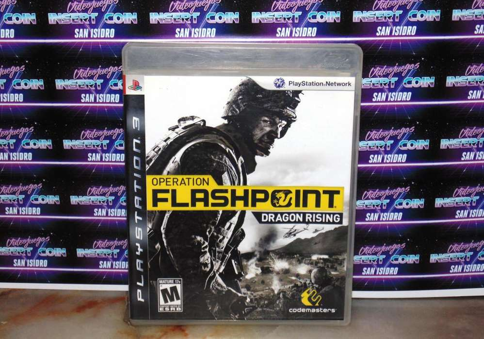 Flashpoint PS3 Juego Play Station 3
