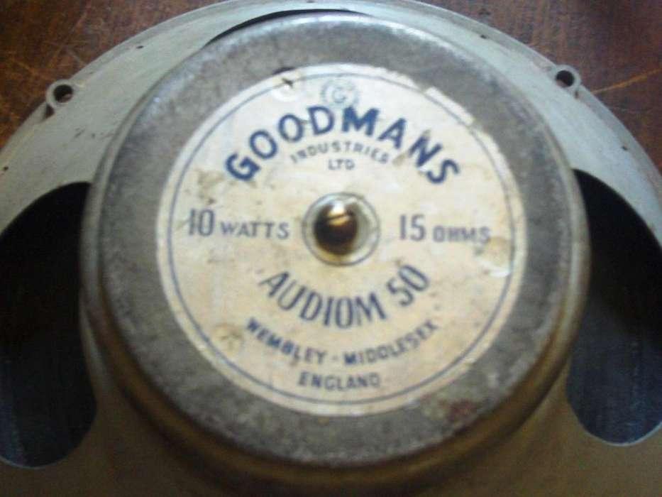 PARLANTE GOODMANS AUDIOM 50 MADE IN ENGLAND 10 WATTIOS AUDIOMAX