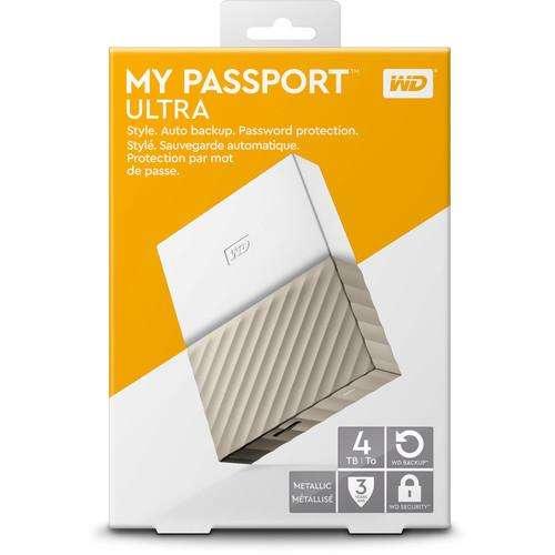 WD 4TB My Passport Ultra - Disco Duro Externo