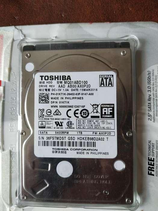 Disco Duro Toshiba 1 Tb para Portátil