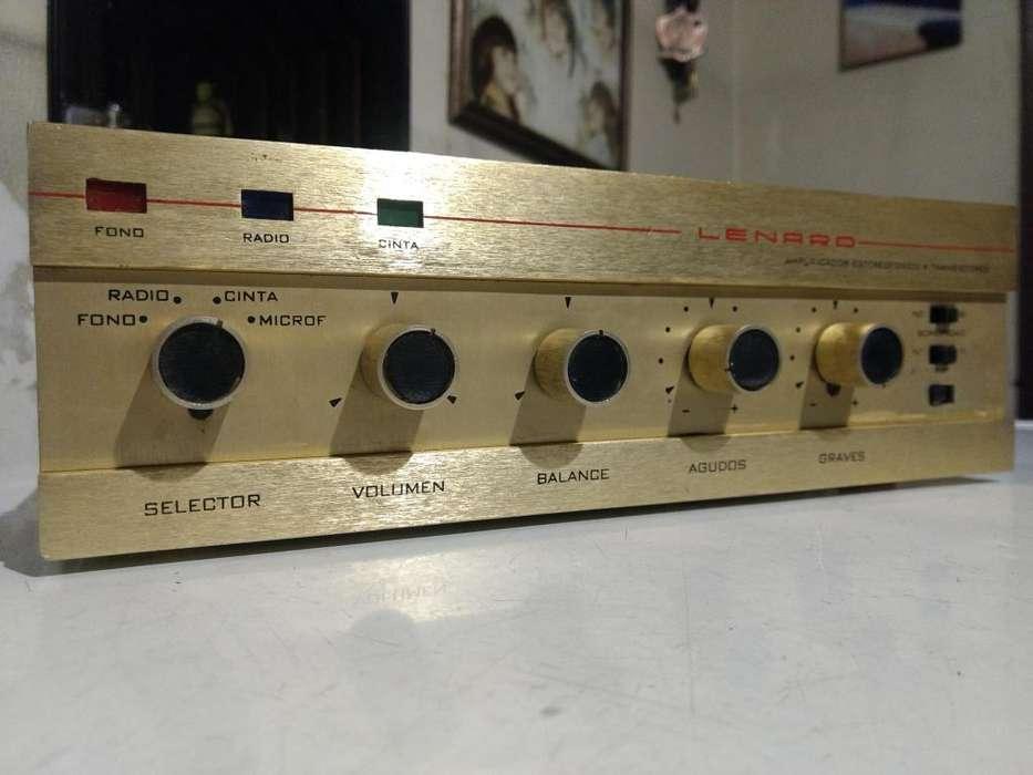 antiguo amplificador LENARD a transistores