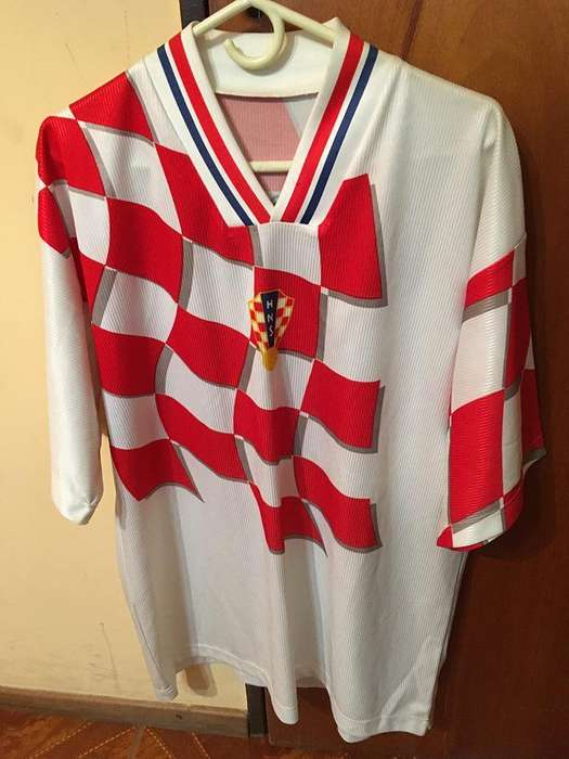 Camiseta Croacia Boban 10 talle XL