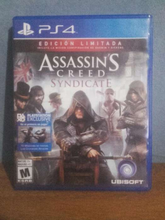 Assassins Creed Syndicate Ps4 Impecable