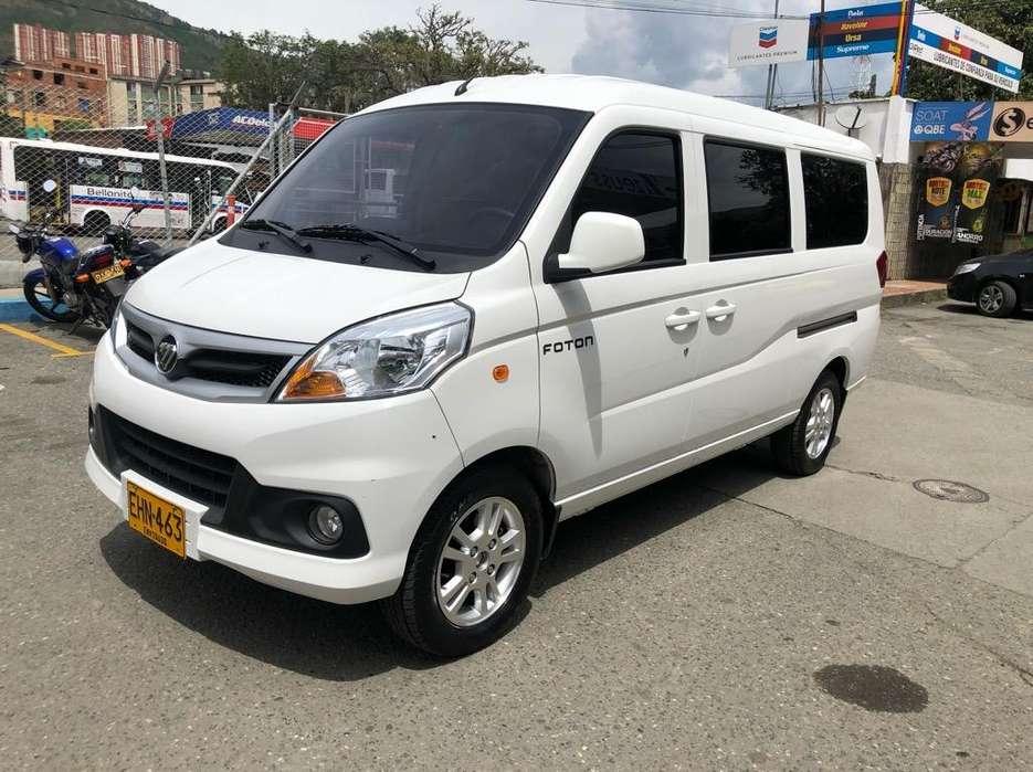 Foton Mini Van 2018 - 33000 km