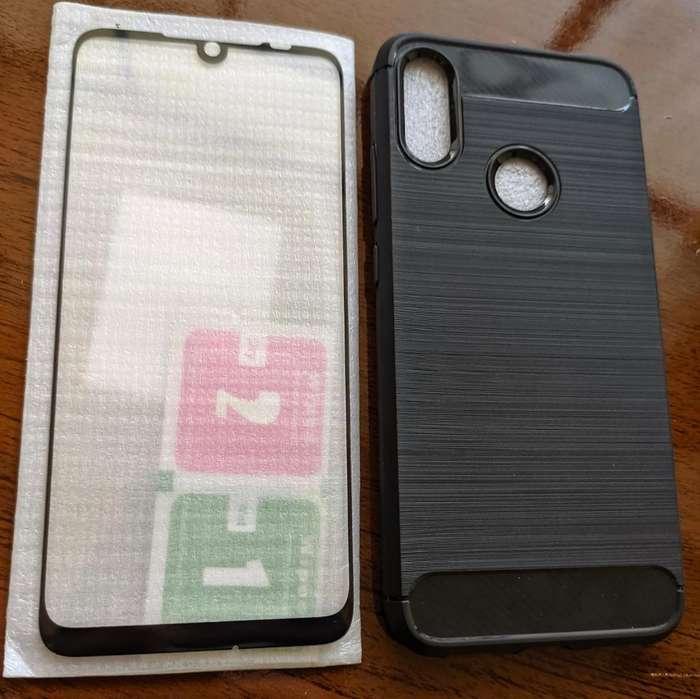 Case Y Vidrio Redmi Note 7